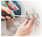 Подключение электрической плиты и монтаж розетки