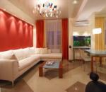 Как можно с помощью красного цвета улучшить дизайн квартиры