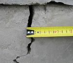 Причины появления трещин в фундаменте