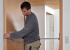 Как уменьшить входную дверь