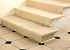 Облицовка лестниц мрамором и гранитом