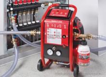 Промывка отопительного оборудования химическими реагентами