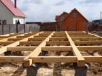 Конструкция столбчатого фундамента для каркасных домов