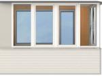 Популярные виды остекления балконов
