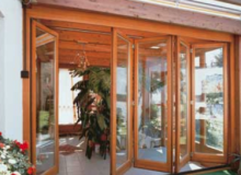 Входные окна и двери гармошкой