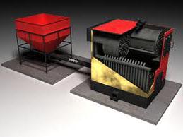 автоматизированная твердотопливная котельная