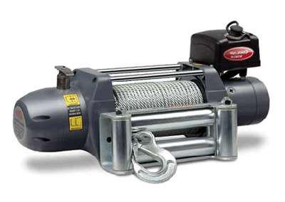 лебедка автомобильная электрическая съемная переносная