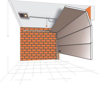 подъемно-секционные ворота гаражные ворота