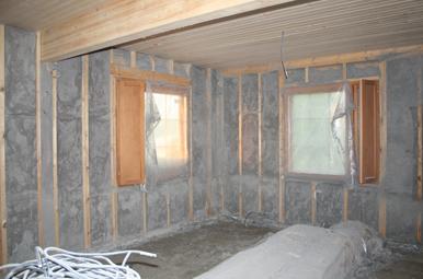 Звуко и теплоизоляция стен в доме