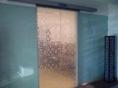 Автоматическая раздвижная межкомнатная дверь