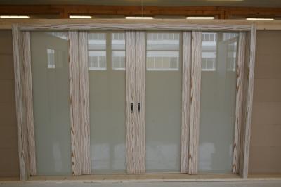 Раздвижная межкомнатная дверь типа каскад