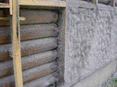 Утепление наружных стен веранды