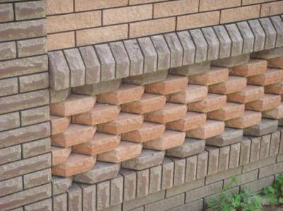 Фасад, отделанный клинкерным кирпичем
