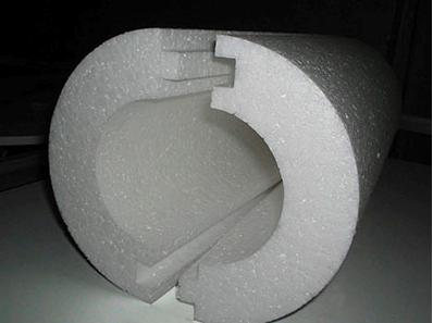 Скорлупа из пенопласта для утепления колодца